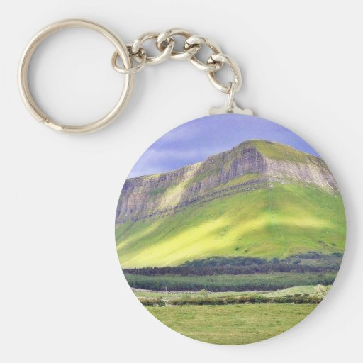 Benbulbin On A Cloudy Day Key Chains