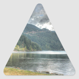 bench-638 triangle sticker