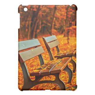 Bench In Autumn Cover For The iPad Mini