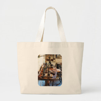 Bench in Dental Lab Tote Bag