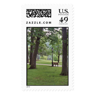 Bench-in-the-Park Stamp