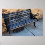 Bench Photograph Print
