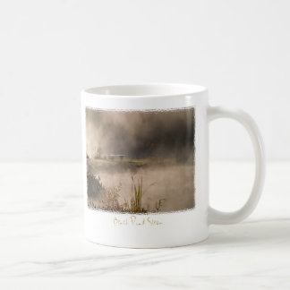Bench Pond Steam Coffee Mug