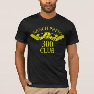 Bench Press 300 Club Gold T-Shirt