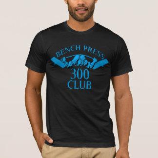 Bench Press 300 Club Light Blue T-Shirt