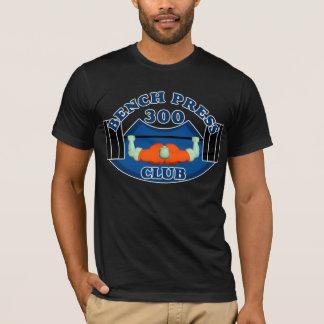 Bench Press 300 Club Weightlifter T-Shirt