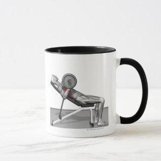 Bench Press Incline Mug