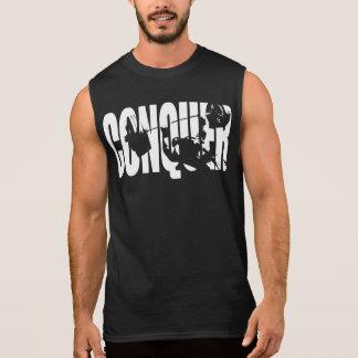 """""""Bench Press"""" Motivation - CONQUER Sleeveless Shirt"""