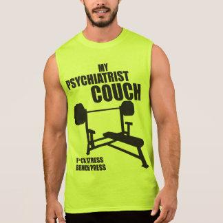 Bench Press - My Psychiatrist Couch - Bodybuilding Sleeveless Shirt