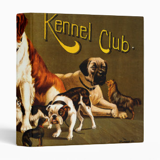 Bench Show. New England Kennel Club 3 Ring Binders