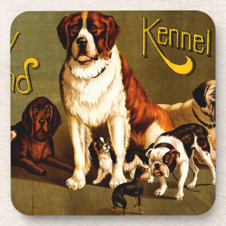 Bench Show. New England Kennel Club Drink Coaster