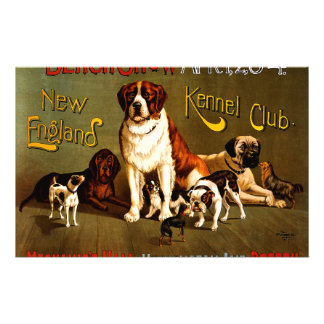Bench Show. New England Kennel Club Stationery