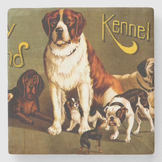 Bench Show. New England Kennel Club Stone Coaster