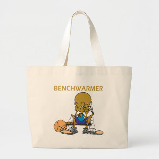 Bench Warmer Tote Bags