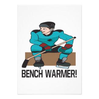 Bench Warmer Invitations