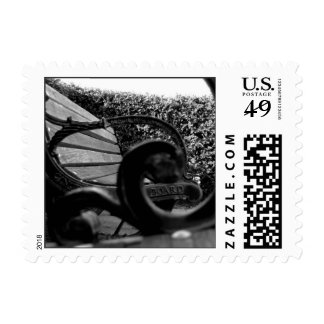 Benches by MKP Postage Stamp