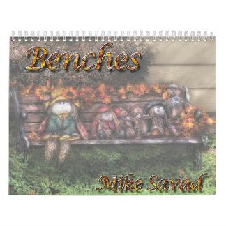 Benches Calendar