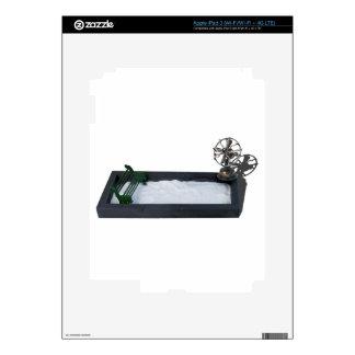 BenchInSnowWithFan011815.png iPad 3 Pegatina Skin