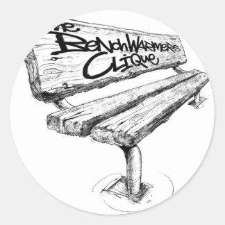 benchwarmers_logo_sharpened mid sticker