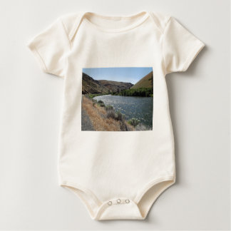 Bend in the River Baby Bodysuit