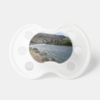 Bend in the River Baby Pacifier