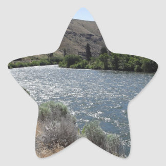 Bend in the River Star Sticker