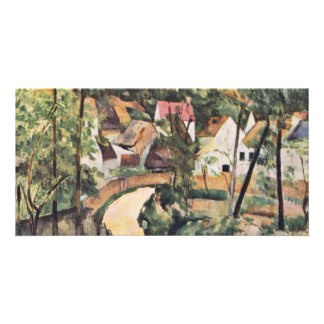 Bend In The Road By Paul Cézanne (Best Quality) Photo Card Template
