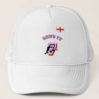 Bend it England no 7 Football fans gifts Trucker Hat