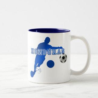 Bend it like a Honduran Honduras flag gifts Two-Tone Coffee Mug