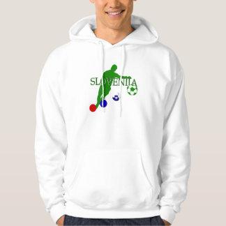 Bend it like a Slovenian Soccer players mug Hoody
