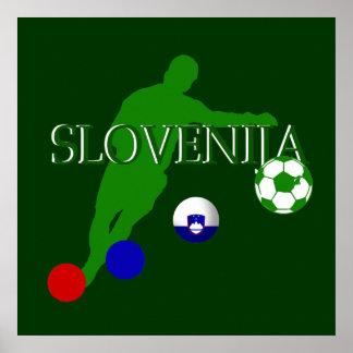 Bend it like a Slovenian Soccer players mug Posters