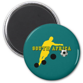 Bend it like Sipho - South Africa football gear 2 Inch Round Magnet