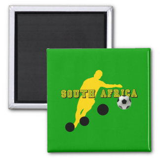 Bend it like Sipho - South Africa football gear 2 Inch Square Magnet