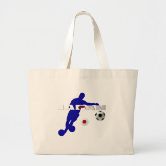 Bend it like the Japanese - Japan Soccer Gifts Jumbo Tote Bag