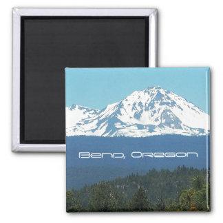 Bend, Oregon 2 Inch Square Magnet