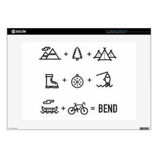 Bend Oregon Activities Equation Logo Skin For Laptop