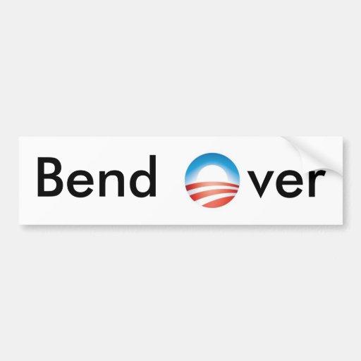 Bend Over 2 Bumper Sticker