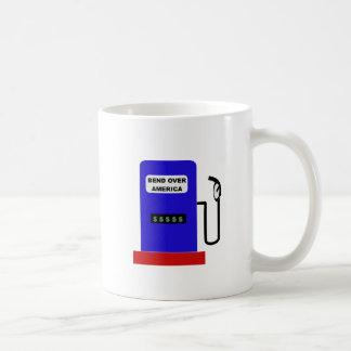 BEND OVER AMERICA - Gas Pump lube job Coffee Mug
