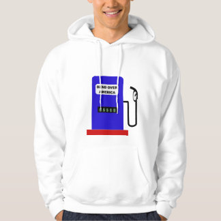 BEND OVER AMERICA - Gas Pump lube job Hoodie