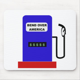 BEND OVER AMERICA - Gas Pump lube job Mouse Pad