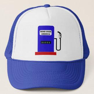 BEND OVER AMERICA - Gas Pump lube job Trucker Hat