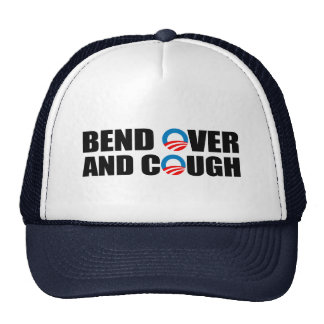BEND OVER AND COUGH TRUCKER HAT
