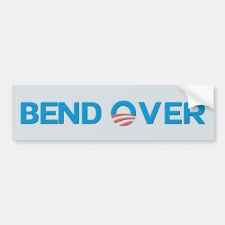 Bend Over Anti Obama Bumpersticker Car Bumper Sticker