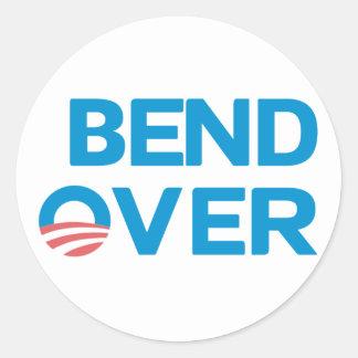 Bend Over - Anti Obama Sticker