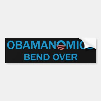 Bend Over Bumpersticker (Black) Car Bumper Sticker
