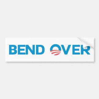 Bend Over Car Bumper Sticker