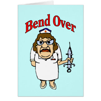 Bend Over, Get Well Card