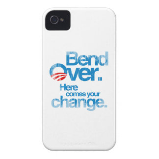 Bend Over. Here Comes your change Faded.png iPhone 4 Case-Mate Cases