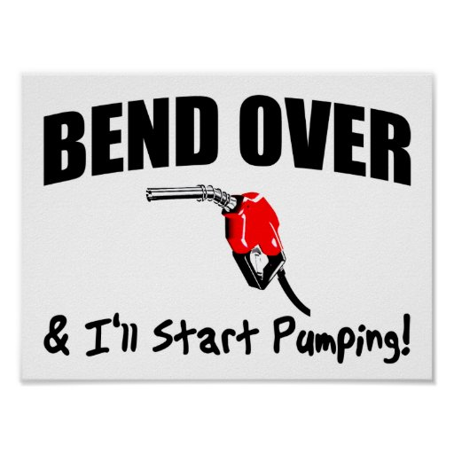 Bend Over Poster