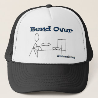 bend over trucker hat